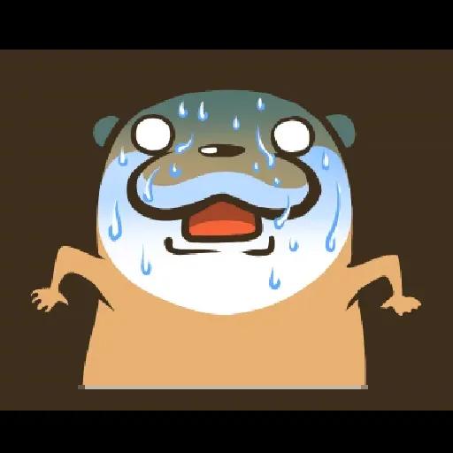 Otter Kotsumetti3.2 - Sticker 18
