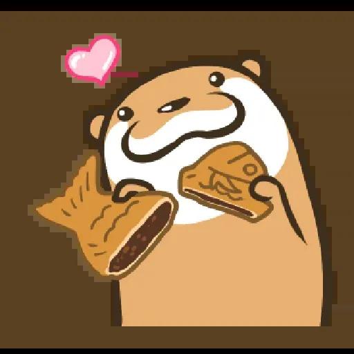 Otter Kotsumetti3.2 - Sticker 4