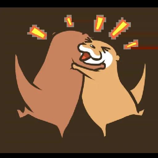 Otter Kotsumetti3.2 - Sticker 8
