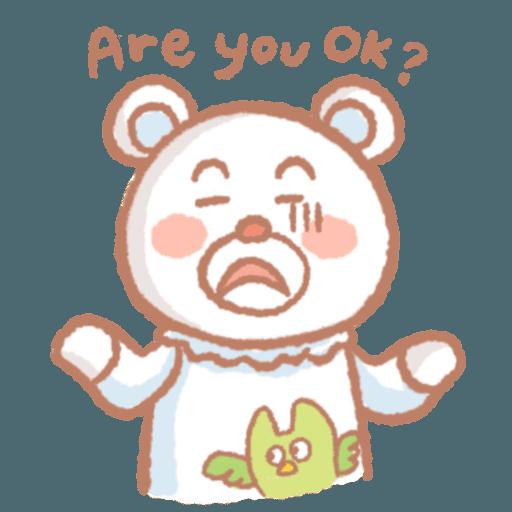 肥肥家族x小熊先生 - Sticker 11