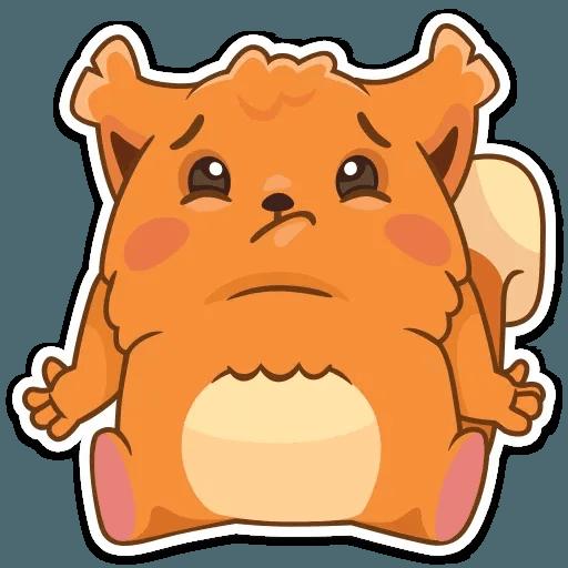Декстер белка - Sticker 13