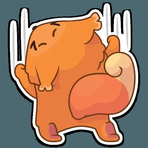 Декстер белка - Sticker 12