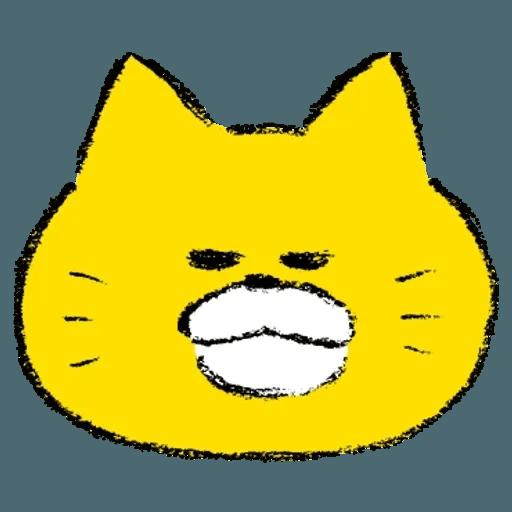 黃色肥喵喵 - Sticker 4