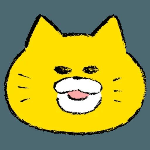 黃色肥喵喵 - Sticker 3