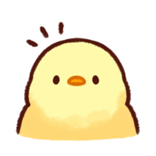 soft and cute chick 13 - Sticker 5