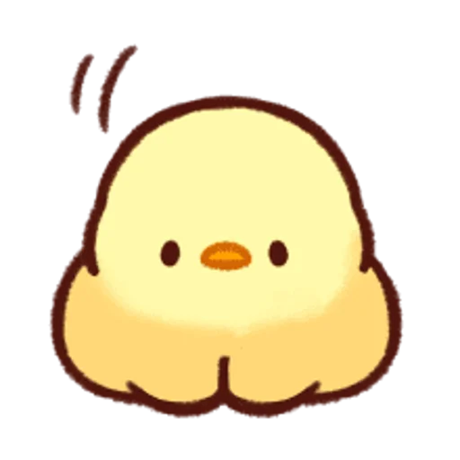 soft and cute chick 13 - Sticker 12