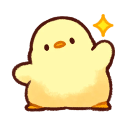 soft and cute chick 13 - Sticker 11