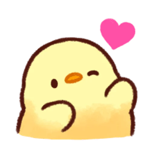 soft and cute chick 13 - Sticker 6