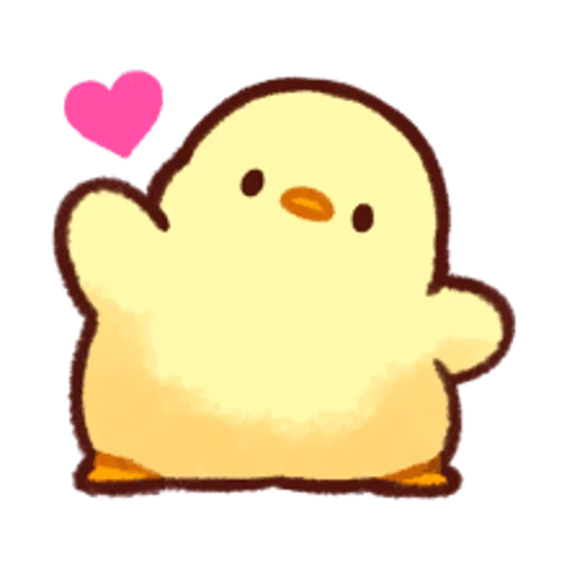 soft and cute chick 13 - Sticker 10
