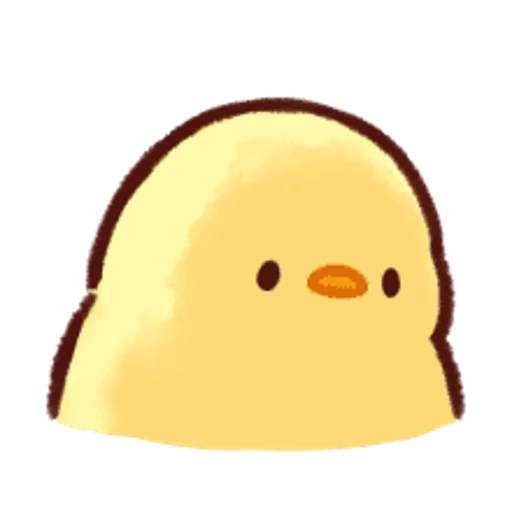soft and cute chick 13 - Sticker 9