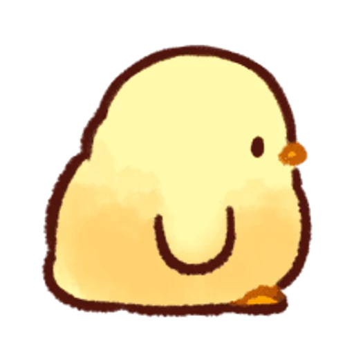 soft and cute chick 13 - Sticker 20