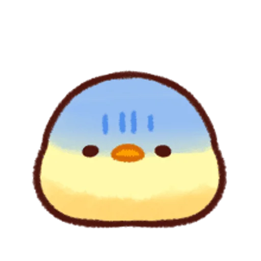 soft and cute chick 13 - Sticker 1