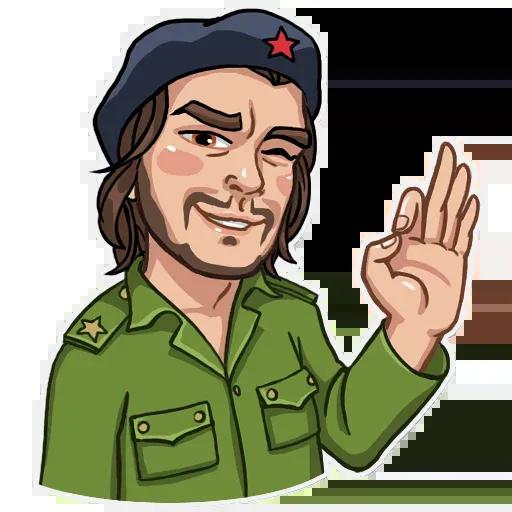 Che Guevara - Sticker 20
