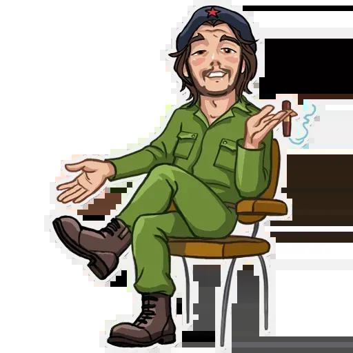 Che Guevara - Sticker 8