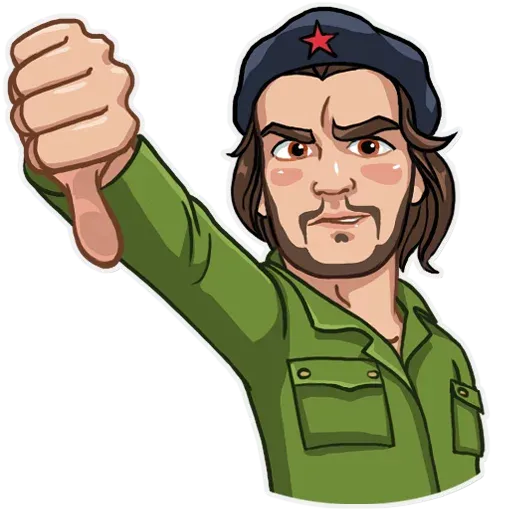 Che Guevara - Sticker 6