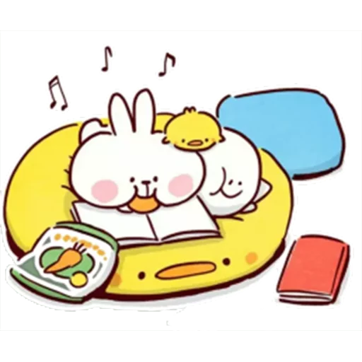 Spoiled rabbit 🐰  - Sticker 2