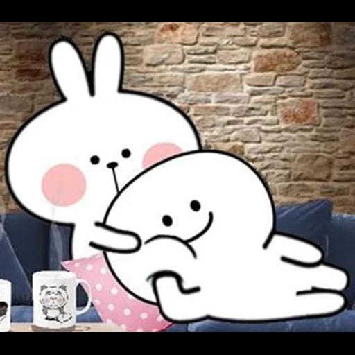 Spoiled rabbit 🐰  - Sticker 9