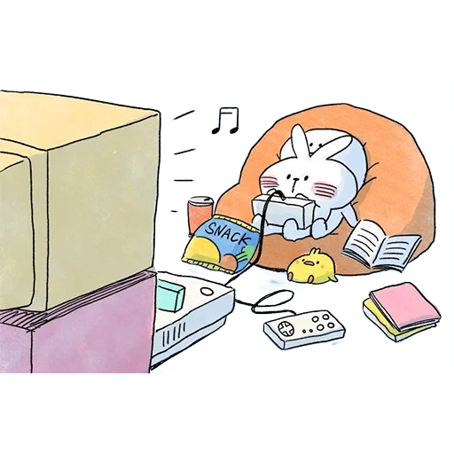 Spoiled rabbit 🐰  - Sticker 17