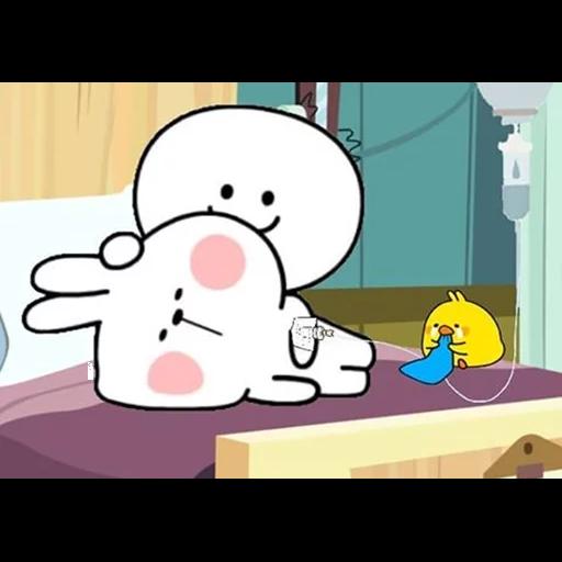 Spoiled rabbit 🐰  - Sticker 23