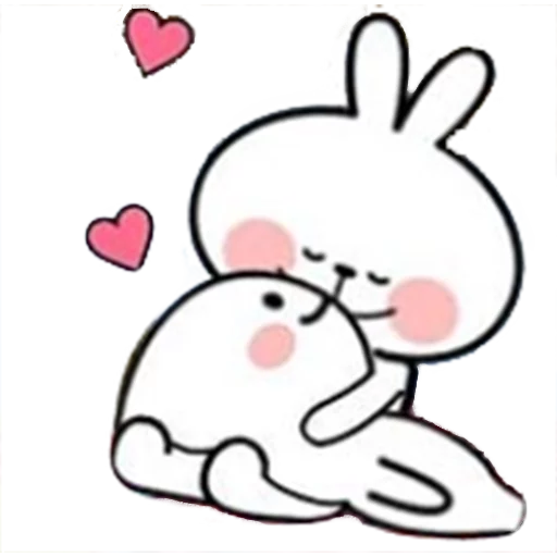Spoiled rabbit 🐰  - Sticker 14