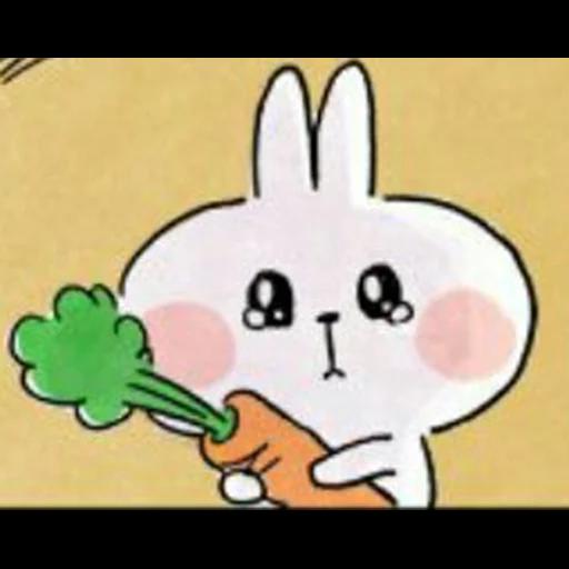 Spoiled rabbit 🐰  - Sticker 3