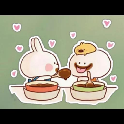 Spoiled rabbit 🐰  - Sticker 1