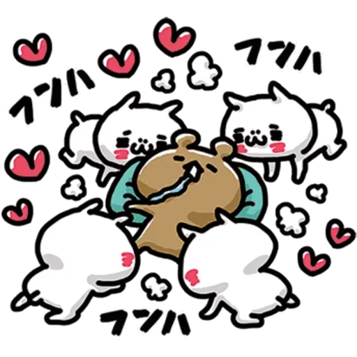 Cat love - Sticker 10