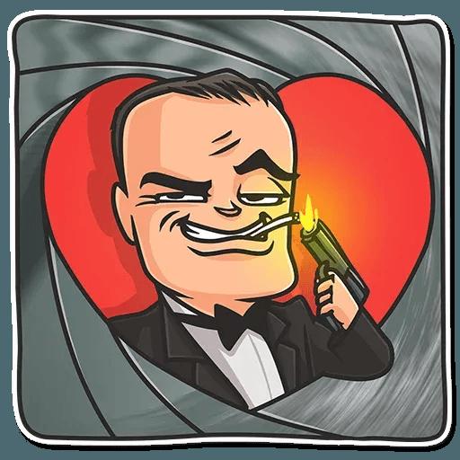 Cinema Male Heroes - Sticker 3