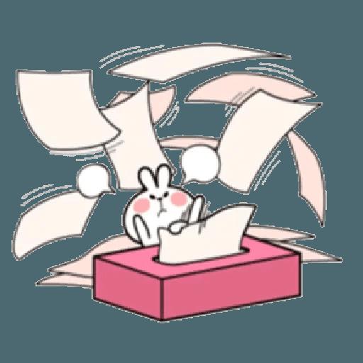 Spoiled rabbit 12 - Sticker 23