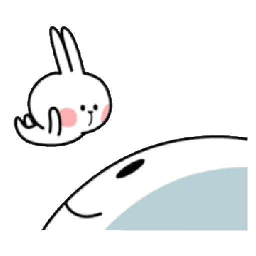 Spoiled rabbit 12 - Sticker 4