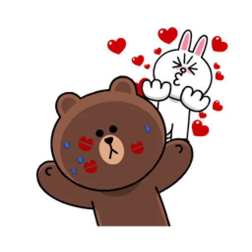 Brown & Cony - Sticker 25