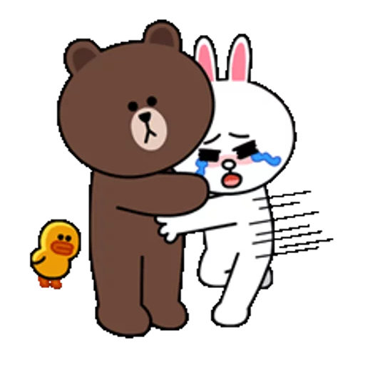 Brown & Cony - Sticker 20