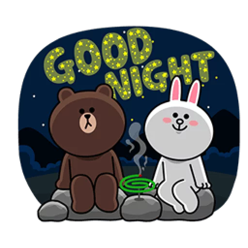 Brown & Cony - Sticker 17