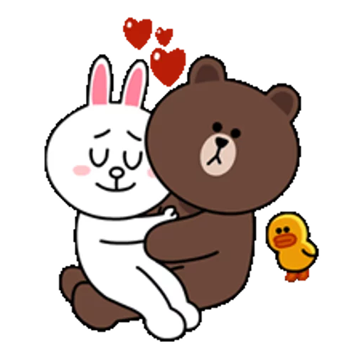 Brown & Cony - Sticker 21