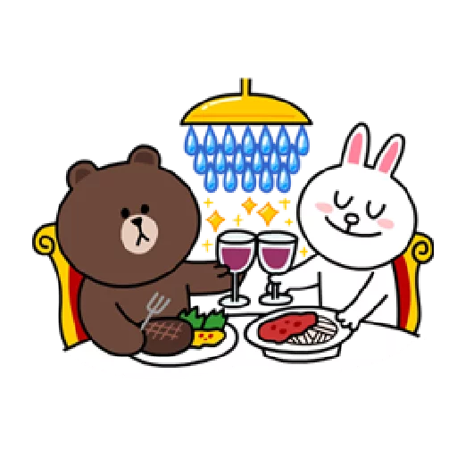 Brown & Cony - Sticker 16