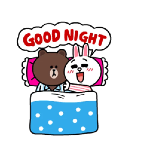 Brown & Cony - Sticker 7