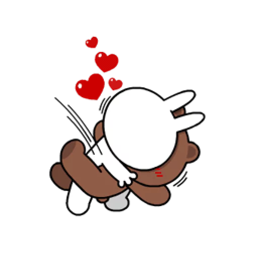 Brown & Cony - Sticker 26