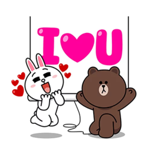 Brown & Cony - Sticker 6