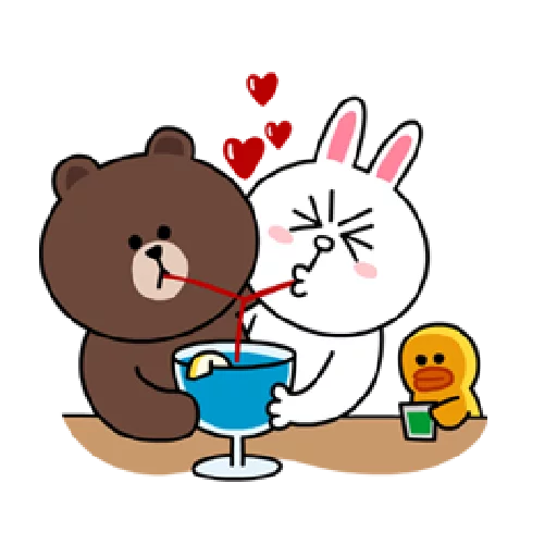 Brown & Cony - Sticker 13