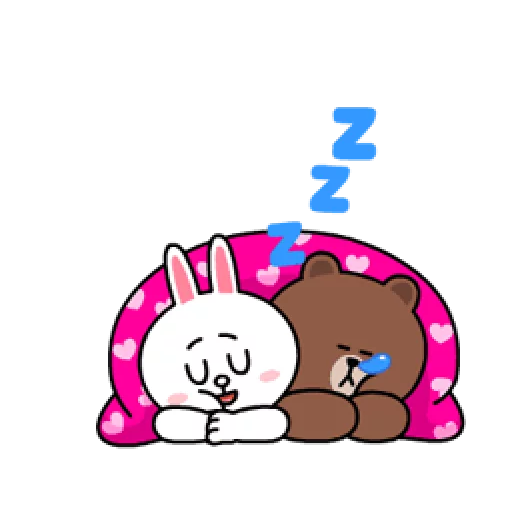 Brown & Cony - Sticker 11