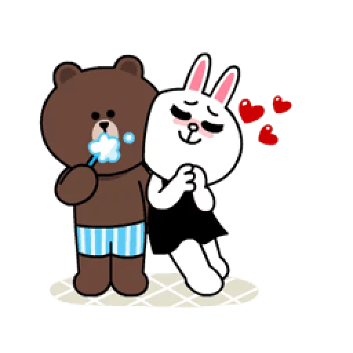 Brown & Cony - Sticker 24