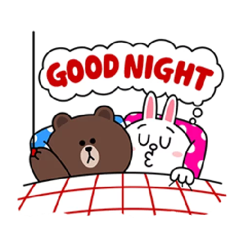 Brown & Cony - Sticker 4