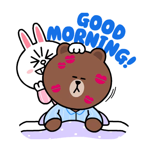 Brown & Cony - Sticker 22