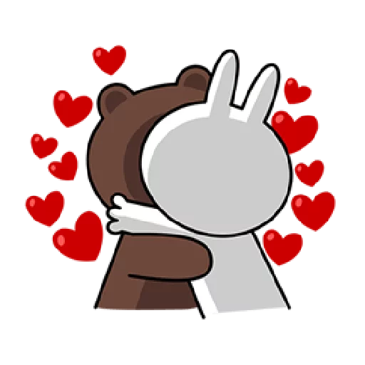 Brown & Cony - Sticker 5
