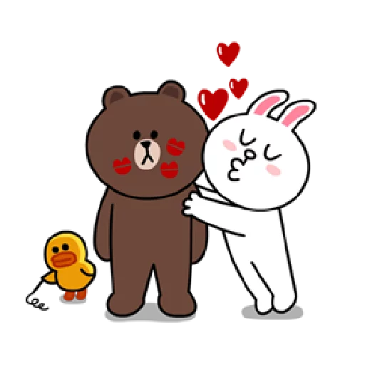 Brown & Cony - Sticker 15