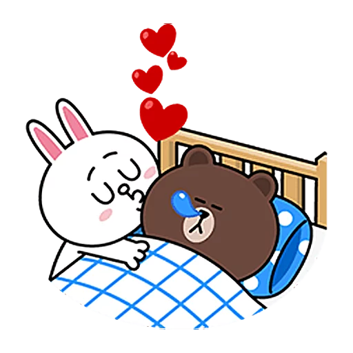 Brown & Cony - Sticker 30