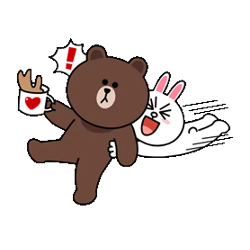 Brown & Cony - Sticker 18