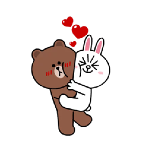 Brown & Cony - Sticker 9