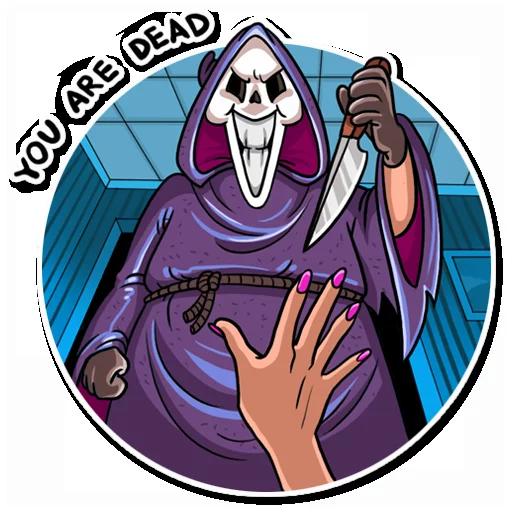 Scream - Sticker 15