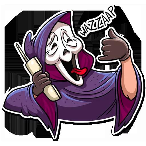 Scream - Sticker 12